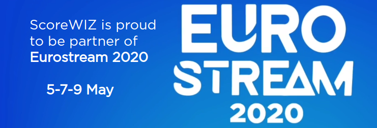 ScoreWIZ is proud to be partner of Eurostream 2020 -- 5-7-9 May